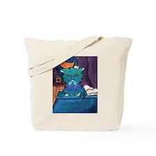 Wet Cat Tote Bag