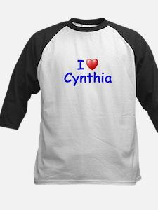 I Love Cynthia (Blue) Tee