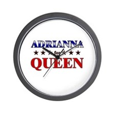 ADRIANNA for queen Wall Clock