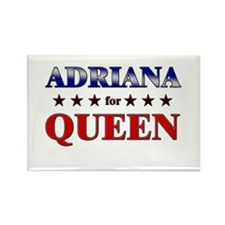 ADRIANA for queen Rectangle Magnet