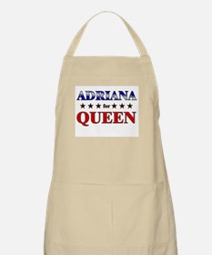 ADRIANA for queen BBQ Apron
