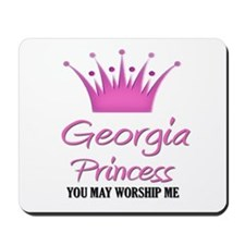 Georgia Princess Mousepad