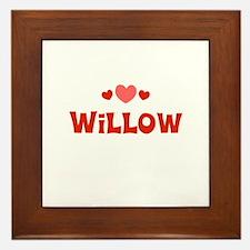 Willow Framed Tile
