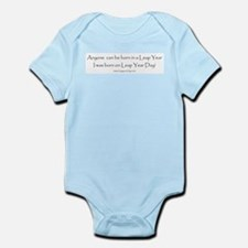 Anyone can be born in Leap Ye Infant Bodysuit