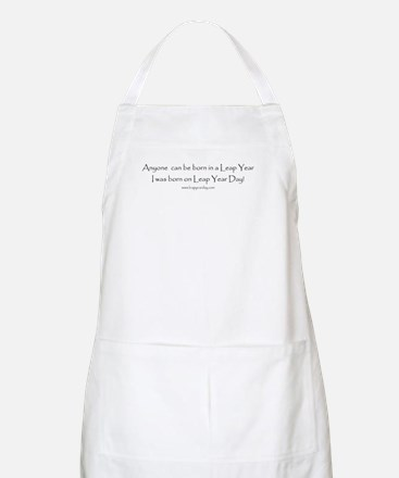 Anyone can be born in Leap Ye BBQ Apron