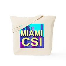 Miami CSI Tote Bag