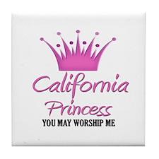 California Princess Tile Coaster