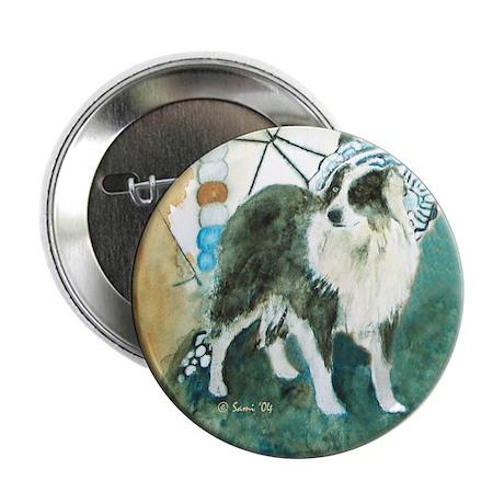 """Misty, the Australian Shepherd 2.25"""" Button (10 pa"""