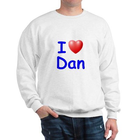 I Love Dan (Blue) Sweatshirt