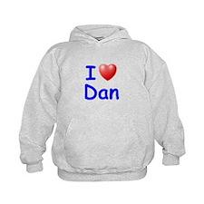 I Love Dan (Blue) Hoodie