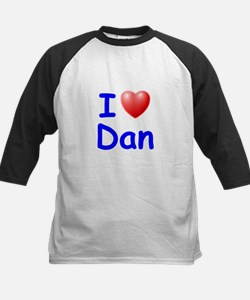 I Love Dan (Blue) Tee