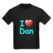 I Love Dan (Lt Blue) T