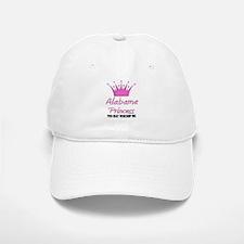 Alabama Princess Baseball Baseball Cap