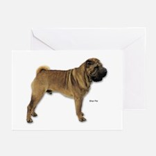 Shar Pei Dog for Shar Pei Lovers Greeting Cards (P