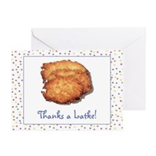 """Thanks a Latke"" Note Cards (Pk of 10)"