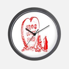 Valentine's Day Cave Man Wall Clock