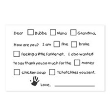 Bubbe Notes Postcards (Package of 8)