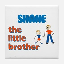 Shane - The Little Brother  Tile Coaster