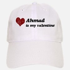 Ahmad is my valentine Baseball Baseball Cap