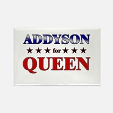 ADDYSON for queen Rectangle Magnet
