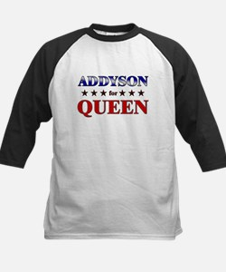 ADDYSON for queen Kids Baseball Jersey