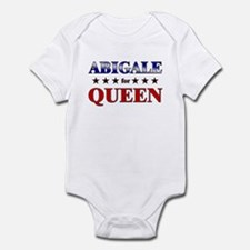 ABIGALE for queen Infant Bodysuit