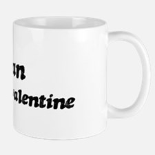 Fabian is my valentine Mug