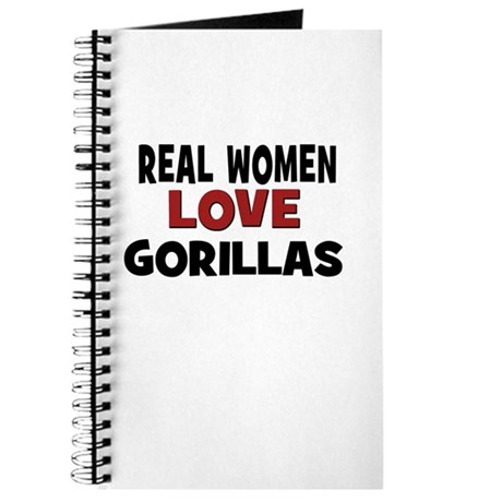 Real Women Love Gorillas Journal
