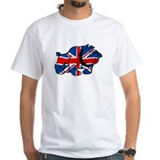 Union Jack Brit Bulldog Shirt