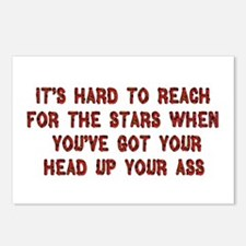 Ass In The Stars Postcards (Package of 8)