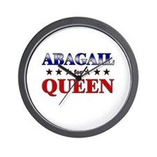 ABAGAIL for queen Wall Clock
