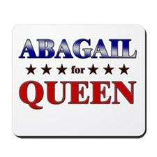 ABAGAIL for queen Mousepad