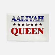 AALIYAH for queen Rectangle Magnet