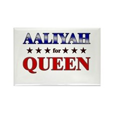 AALIYAH for queen Rectangle Magnet (10 pack)