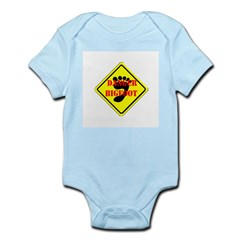 BIGFOOT DANGER Infant Creeper