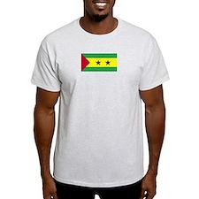 Sao Tome and Principe Ash Grey T-Shirt