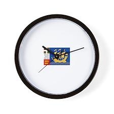 Saint Pierre and Miquelon Wall Clock