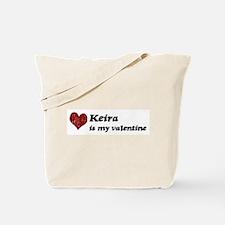 Keira is my valentine Tote Bag