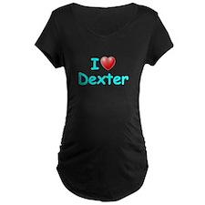 I Love Dexter (Lt Blue) T-Shirt