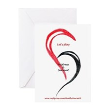 Heart Mistress Servant Greeting Card