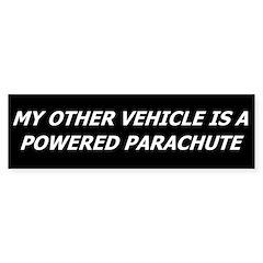Powered Parachute Bumper Bumper Sticker
