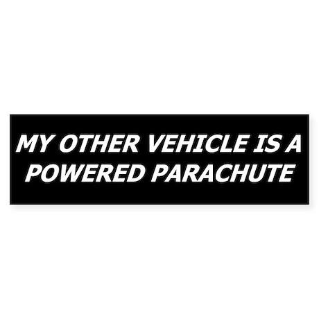 Powered Parachute Bumper Sticker