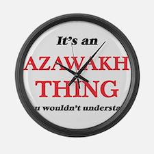 It's an Azawakh thing, you wo Large Wall Clock