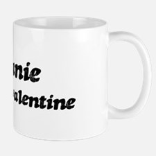 Melanie is my valentine Mug