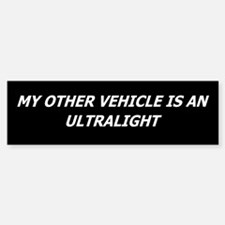 Ultralight Bumper Car Car Sticker