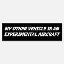 Experimental Aircraft Bumper Stickers