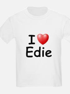 I Love Edie (Black) T-Shirt