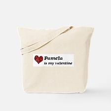 Pamela is my valentine Tote Bag