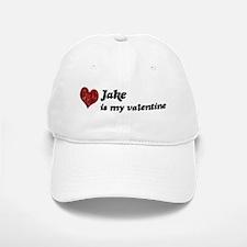 Jake is my valentine Baseball Baseball Cap