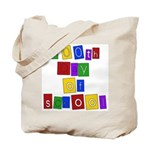 Bright Colors 100th Day Tote Bag